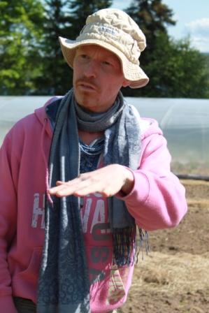En av våra duktiga lärare Johan Erle