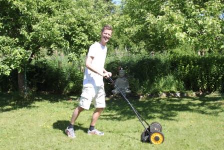 Klimatsmart gräsklippning