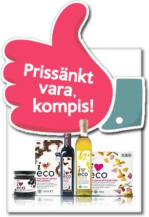 Ica sänker priserna på I Love Eco