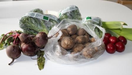 Ekologiska grönsaker