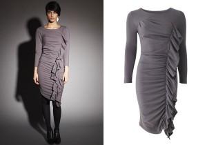 Ruby klänning. Tillverkad av 95% ekologisk bomull och 5% elastan.