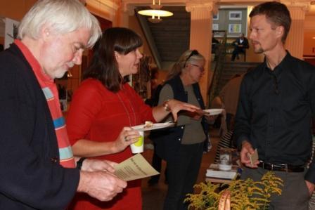 Per och Åsa var mycket intresserade av Ekosvensson och vårt budskap