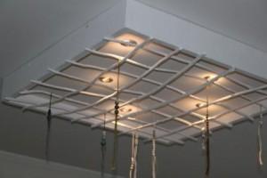 Den här coola lampan är designad av mig och tillverkad av Ronny på Grön byggnation
