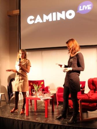 Marie Fredriksson från 100Hus på Camino Live