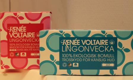 Lingonveckan från Renée Voltaire - Ekologiska bindor