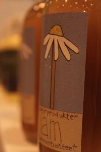 am - naturprodukters vackra etiketter
