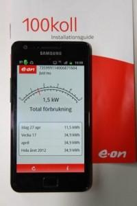 EON 100Koll i mobilen