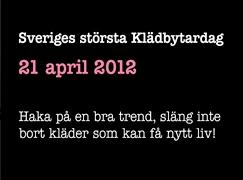 Stora klädbytardagen 2012