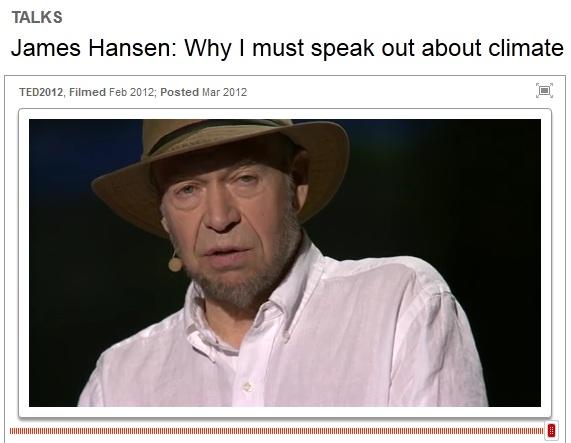 Klimatforskaren James Hansen