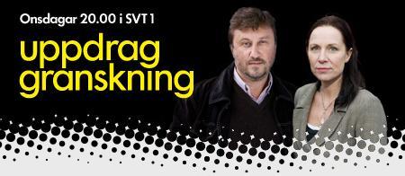 Uppdrag Granskning, onsdagar kl. 20 i SVT1