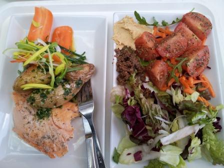 Vacker och god mat från KRAV-märkta Amica More NorrTull