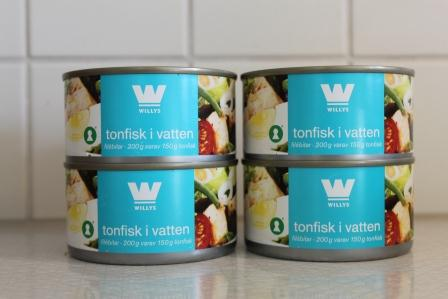 Tonfiskburkar utan Bisfenol