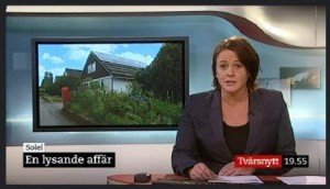 SVT Tvärsnytt 2012-06-13 kl. 19.52