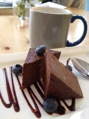 Underbar rå-choklad dessert på Simple Raw