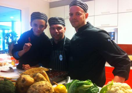 Köksmästarna på väg mot 100% ekologisk skolmat