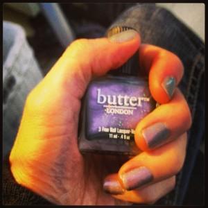Butter London heter det giftfria nagellacket jag valt