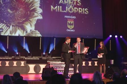 Vinnare av Årets Miljöpris - Handla24.se